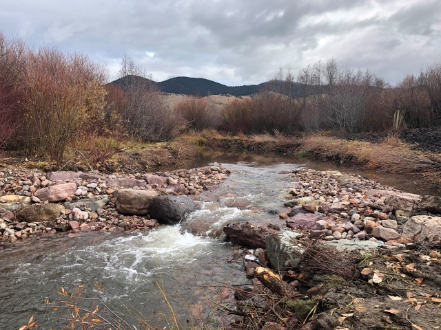 Nevada Creek Diversion Upgraded Small